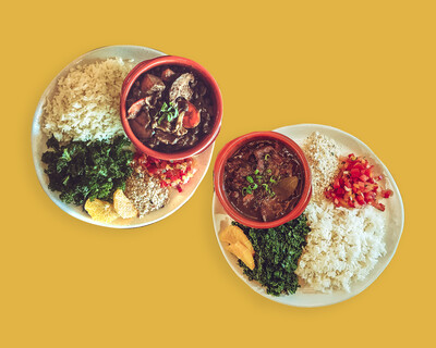 Feijoada to Share (Vegan or traditional) - *Requires heating*