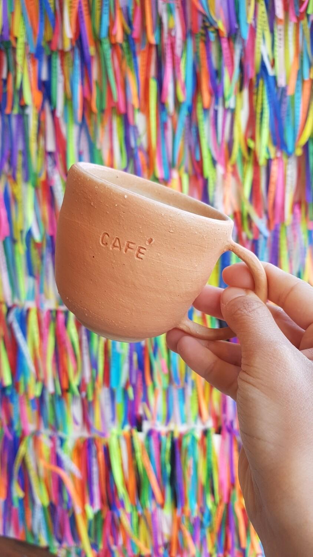 """""""Café"""" coffee mug"""