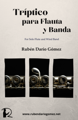 Tríptico para Flauta y Banda (SET OF FULL SCORE AND PARTS)