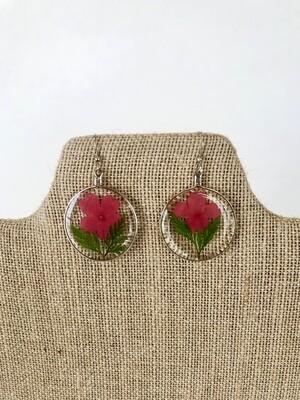 Dried Flower Earrings