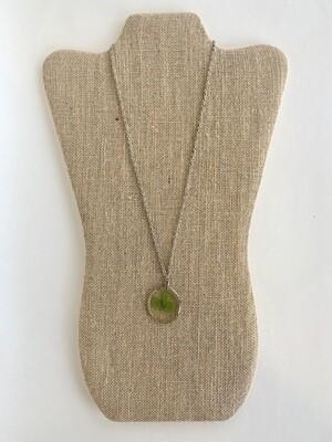 Green Clover Necklace