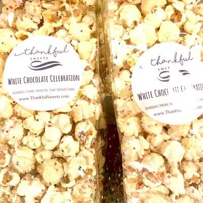 White Chocolate Celebration Popcorn
