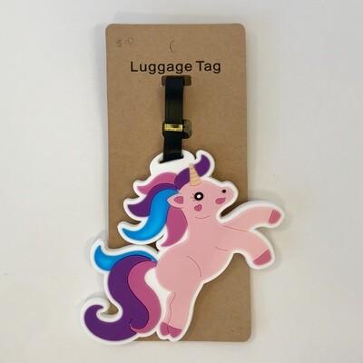 Unicorn Heart Luggage Tag
