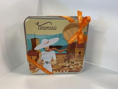 9 Tiramisu Chocolate Gift Box 3.52 oz.