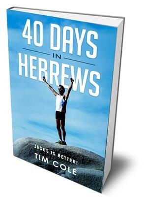 40 Days in Hebrews - Devotional