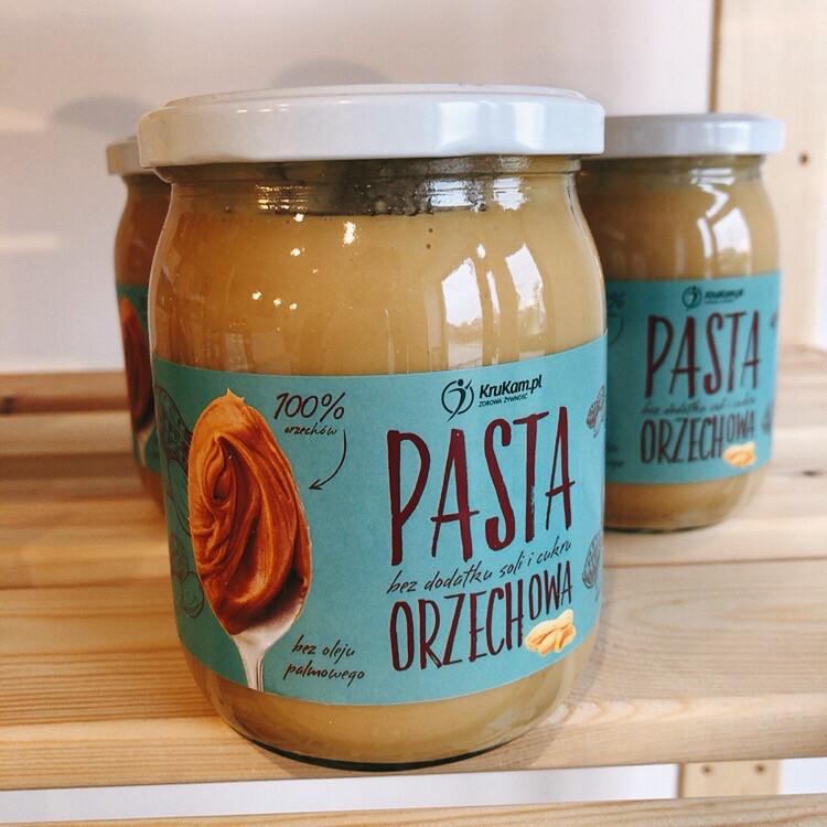 Pasta Orzechowa
