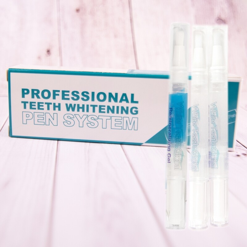 3 Teeth Whitening Pens Box with 2