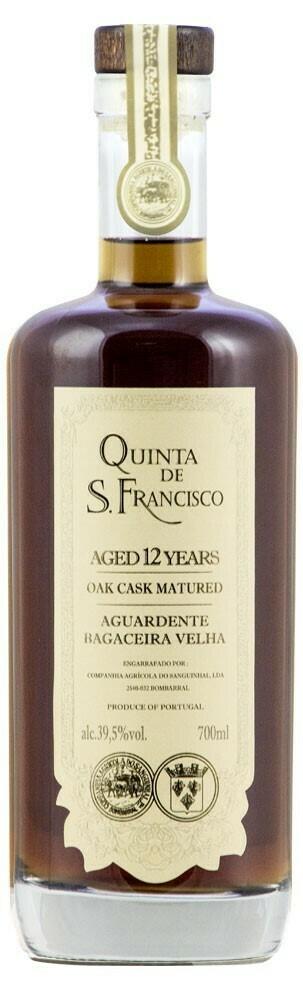 QUINTA DE SAO FRANCISCO - VERY OLD MARC BRANDY - 12 YEARS - 40%