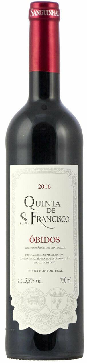 QUINTA DE SAO FRANCISCO - DOC OBIDOS - RED 2017