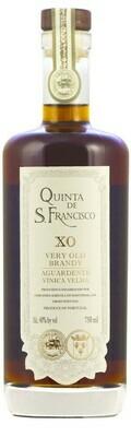QUINTA DE SAO FRANCISCO - VERY OLD BRANDY-  XO - 12 YEARS - 40%