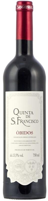 QUINTA DE SAO FRANCISCO RED WINE DOC OBIDOS