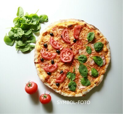 Pizza Diavolo Mittagstisch