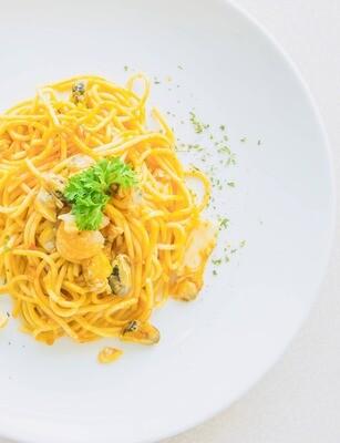 Spaghetti mit Filetspitzen