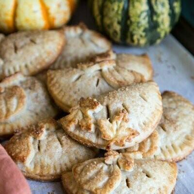 Pumpkin Spiced Hand Pies