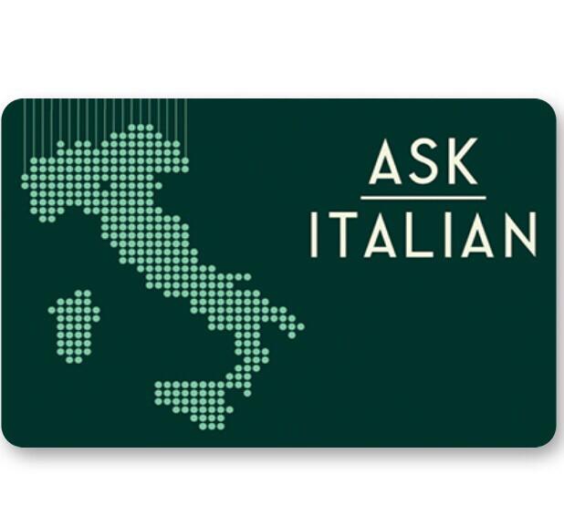 Ask Italian Digital Voucher