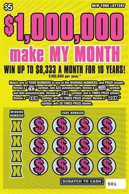 $1,000,000 MAKE MY MONTH