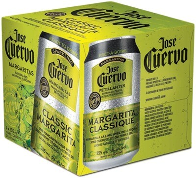 Jose Cuervo Lime Margarita 4pk