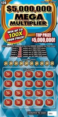 $5,000,000 MEGA MULTIPLIER