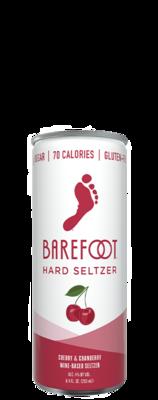 Barefoot Hard Seltzer Cherry Cranberry 4pk