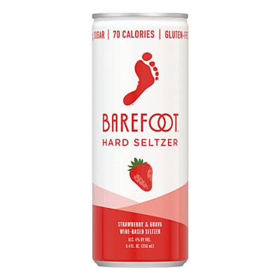 Barefoot Strawberry Hard Seltzer 4pk