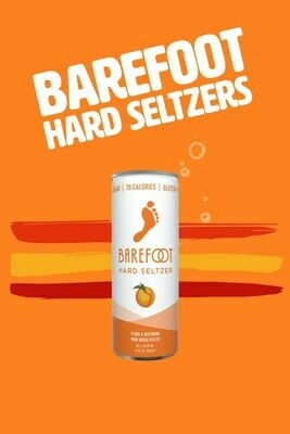 Barefoot Hard Seltzer Peach & Nectarine 4pk