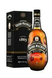 Grand Macnish Black Edition in Charred Bourbon Casks