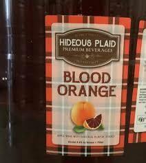 ELLICOTTVILLE BLOOD ORANGE CIDER