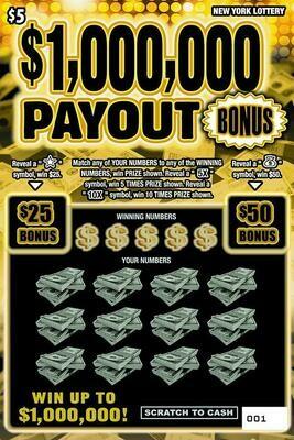 $1,000,000 PAYOUT BONUS