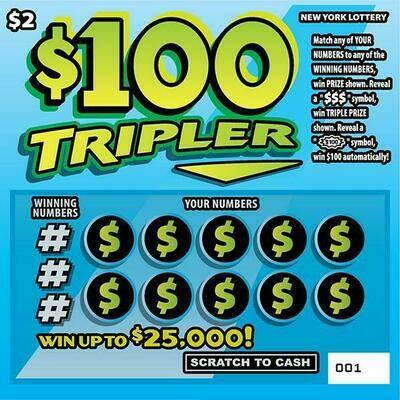 $100 TRIPLER