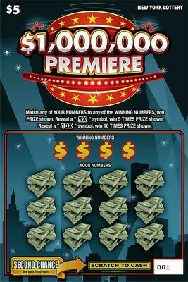 $1,000,000 PREMIER