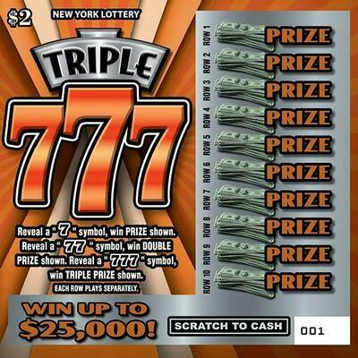 TRIPLE 777'S