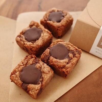 チョコレートチャンククッキー 4個入 税込 送料込み