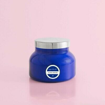 Aloha Orchid- Blue Jar