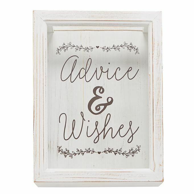 Advice & Wishes Sentiment Box