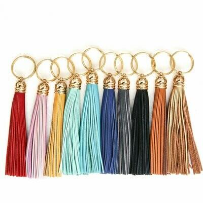 """Commissioned"" Tassel Key chain"