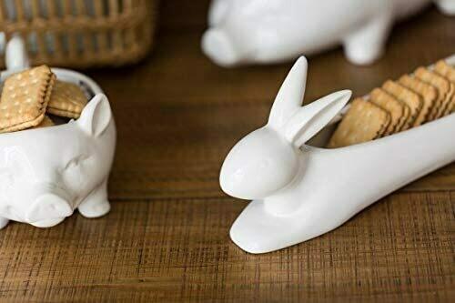 Bunny Cracker Dish