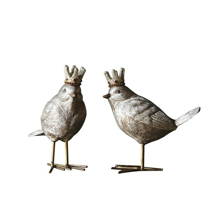 Bird with Crown - Standing