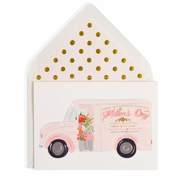 Flower truck Mother's Day