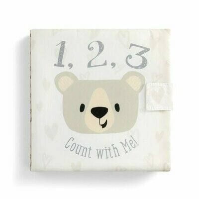 """""""1,2,3 Count With Me"""" Soft Book"""