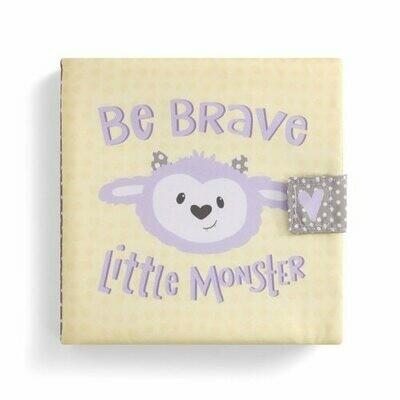 """Be Brave Little Monster"" soft book"