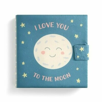 """""""I Love you to the Moon """" Soft Book"""