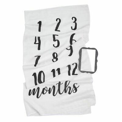 Monthly Milestone Photo Blanket