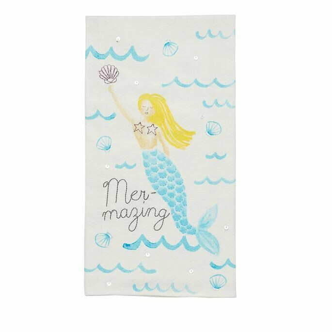"""""""Mer-Mazing"""" Hand Towel"""