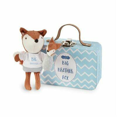 Sibling Fox in a Box