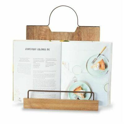 Wood Recipe Book Holder
