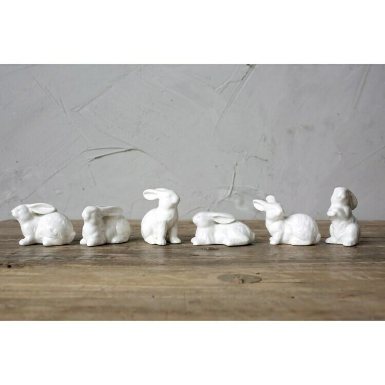 Ceramic Bunnies - Set 6