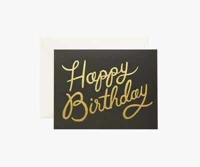 Black Happy Birthday