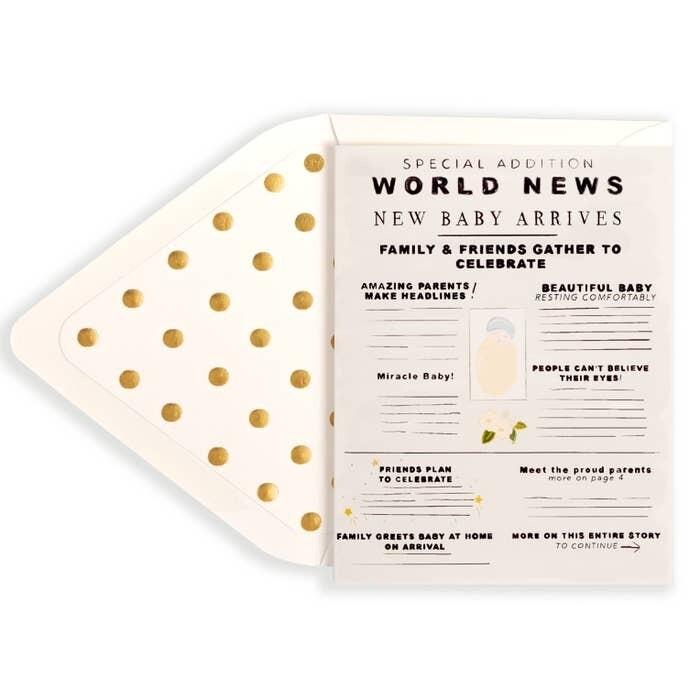 World News! Baby Arrives