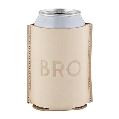 """""""Bro""""leather Coozie"""