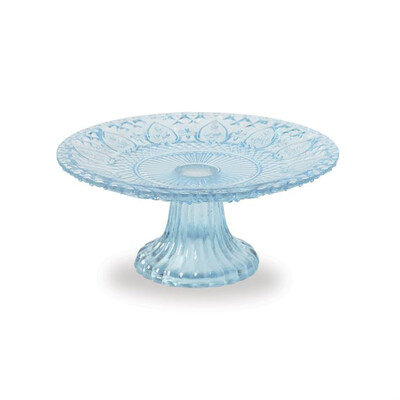 Blue Glass Stand